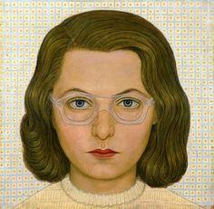 Věra s brýlemi, 1955 by Pavel Brazda Mona Lisa, Fine Art, Artwork, People, Painting, Work Of Art, Auguste Rodin Artwork, Painting Art, Artworks