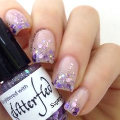 Lacquer: The Best Medicine!: Glitterfied Nails | Winter 2013 Collection - Sugarplum
