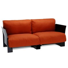 Pop Two Seater Cotton Sofa by Kartell  - Opad.com
