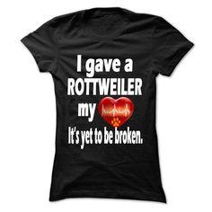 I gave a Rottweiler my heart
