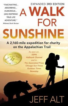 A Walk for Sunshine: A 2,160 Mile Expedition for Charity on the Appalachian Trail, 3rd Edition, http://www.amazon.com/dp/0967948231/ref=cm_sw_r_pi_awdm_xPTotb024ZEZG