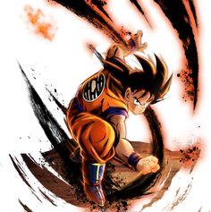 Goku Saiyan Saga render 13 - DB Legends by on DeviantArt Tatoo Manga, Goku Saiyan, Dbz Characters, Anohana, Desenho Tattoo, Dragon Ball Gt, Anime Comics, Saga, Deviantart