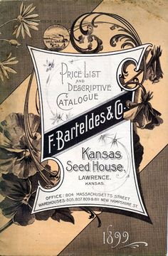 seed catalogue 1899