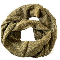 Infinity Scarf Natural Taupe, $17, now featured on Fab.