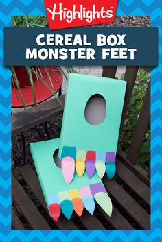 My, oh my! What big feet you have! Perfect for stomping, tromping, and roaming through imaginary lands, these feet are a fun addition to the dress-up area or a last-minute Halloween costume!