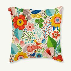Find More Pillow Case Information about flower Square Pillow Case Cushion Countryside Cover Home Living Bed Room Decorative Coffee Shop Office Relax Throw Back Pad,High Quality pad software,China padded backpacks Suppliers, Cheap pads tens from 7 Color Sunflower on Aliexpress.com