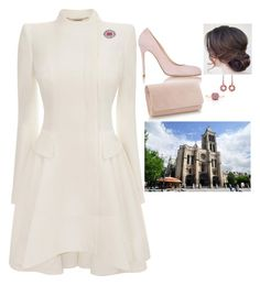 (Read) Attending a service for Epiphany at the Basilica of St. Denis and the tea party at the Château de Versailles by fashion-royalty on Polyvore featuring polyvore fashion style Alexander McQueen Barneys New York Monica Vinader clothing