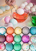 Farvning af æg