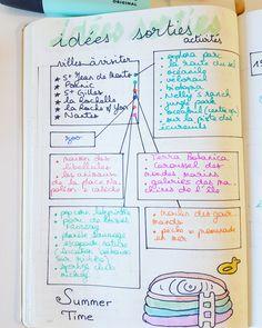 Préparer son départ en vacances – Du temps pour nous Bullet Journal 2020, Bullet Journal Inspiration, Travel Inspiration, Bujo, Drawing Notepad, Weekly Log, School Plan, Passion Planner, More Than Words