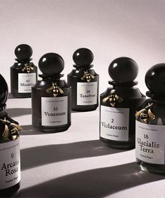 l'artisan parfumeur has unveiled 'natura fabularis' - a collection of six different fragrances, which each invent a unique fantasy. Louis Vuitton Makeup Bag, L'artisan Parfumeur, Perfume Packaging, Bottle Design, Inventions, Perfume Bottles, Fragrance, Cosmetics, Packaging Ideas
