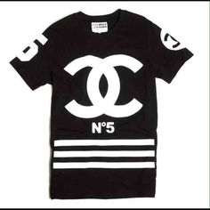 Tops - Coco Chanel homme femme shirt
