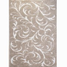 Home Dynamix Canyon Beige Vines 7 ft. 10 in. x 10 ft. 2 in. Indoor Area Rug-1-HD143-150 - The Home Depot