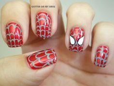 SPIDERMAN ES CULÉ - GLITTER ON MY NAILS