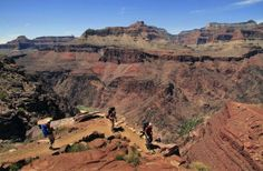 Grand Canyon - Hike to the Bottom and Stay overnight