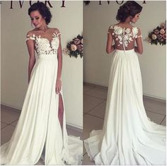 Beaded Wedding Dresses,Ivory Chiffon Wedding Dresses,Lace Bridal Gowns sold by 21weddingdresses. Shop more products from 21weddingdresses on Storenvy, the home of independent small businesses all over the world.