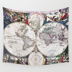 Bormeester Map of the World