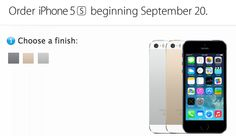 iPhone 5s Inventory Said to Be 'Severely Constrained' at Launch