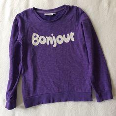 Check out this listing on Kidizen: Mini Rodini Bonjour Sweatshirt  #shopkidizen