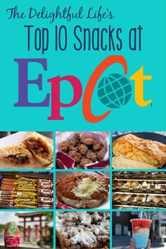 Headed to Walt Disney World soon? Are you looking for the best snacks in Epcot? Whether you're on the Disney Dining Plan or just looking for delicious treats, we've got you covered. Find out the top 10 recommended snacks throughout the park, from savory to salty and sweet!
