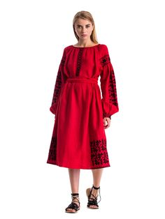 Embroidered dress MD13