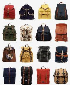 would wear a backpack again...if they were this cute.