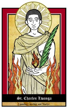 St. Charles Lwanga by NowitzkiTramonto.deviantart.com on @deviantART