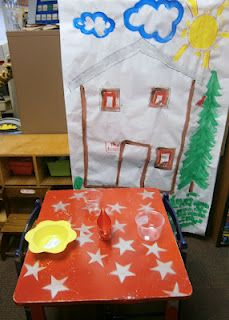 Goldilocks and the 3 bears play center idea