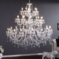 Buy Chandelier, Chandelier Lighting, Refraction Of Light, Modern Colors, My Room, Beautiful Homes, Embellishments, Sparkle, Colours
