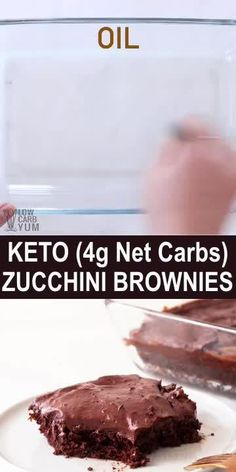 May 2020 - These chocolate frosted keto zucchini brownies are super moist. They combine both almond flour and coconut flour into a rich and fudgy low carb brownie. Low Carb Dinner Recipes, Low Carb Desserts, Keto Recipes, Keto Dinner, Low Calorie Sweets, Snacks Recipes, Cooker Recipes, Soup Recipes, Healthy Recipes