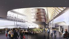 Concept Architecture, Master Plan, 3d Rendering, Shopping Mall, Indoor, How To Plan, Building, Projects, Retail