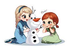 Disney's Frozen | Walt Disney Animation Studios / Elsa and Anna