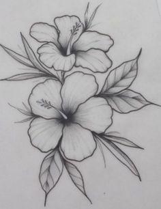 42 Simple and Easy Flower Drawings for Beginners - Cartoon District beginners cartoon district drawings easy flower simple # Simple Flower Drawing, Easy Flower Drawings, Flower Drawing Images, Pencil Drawings Of Flowers, Flower Sketches, Pencil Art Drawings, Art Drawings Sketches, Tattoo Sketches, Easy Drawings