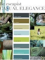 Earth tones, love these colors. Would go with what is already in my house...