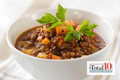 Total 10 Crunchy Fire Lentils: Full of flavor and high in nutrition value, these crunchy fire lentils will leave you feeling satisfied.