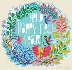 orange you lucky!: happy new year ! ! !