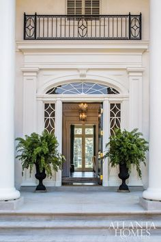 With a proliferation of McMansions and generic white boxes cluttering the housing landscape, it is growing increasingly difficult to find architects who embrace fine classical architecture. Door Design, Exterior Design, House Design, Classic Doors, Home Modern, New England Homes, Classical Architecture, Residential Architecture, Front Door Decor