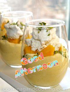 Good Afternoon, Good Morning, Night, Desserts, Food, Buen Dia, Tailgate Desserts, Deserts, Bonjour