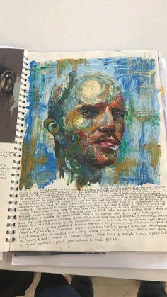 A Level Art Sketchbook, Sketchbook Layout, Arte Sketchbook, Sketchbook Inspiration, Sketchbook Ideas, Creation Art, Art Diary, Art Portfolio, Art Drawings Sketches