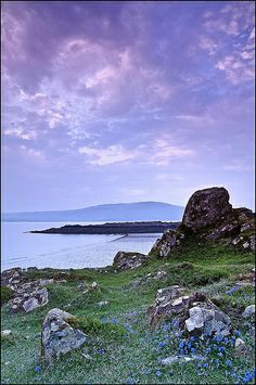 Carrick Bay, Dumfries and Galloway. Scotland