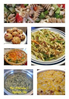 Recipes and Party Potluck Dishes - Moms & Munchkins