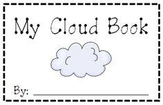 Clouds for Kids 23 Smart Ideas My Cloud Book Printable Teach Junkie