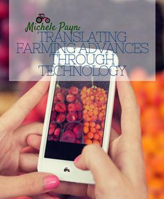 An Apple may be in your apple: the story of technology in food by @mpaynspeaker