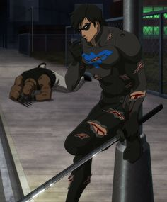 Nightwing from 'Son of Batman'