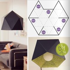 diy paper lamp recycling pinterest lampes en papier fleur et abat jour. Black Bedroom Furniture Sets. Home Design Ideas