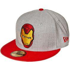 c1a0753303f Marvel Comics Iron Man New Era Hero Baseball Hat (Grey)