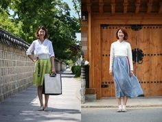 Everyday Hanbok designs (photo: Sonjjang Design Hanbok)