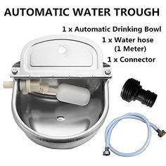 Plumbed Dog Water Bowl Pet Water Fountain Dog Water