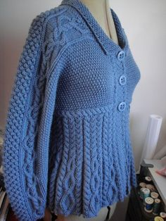 Silver Belle / Romy Cardigan free knitting pattern and more cardigan sweater knitting patterns