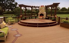 Small touches make a big impact with #Trex Accents #decking.