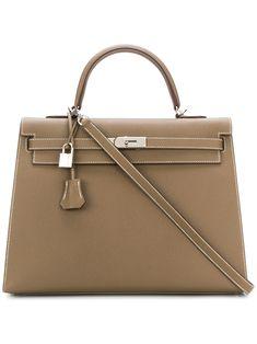 56959db5b9d83 Hermès Vintage Etoupe Kelly 35cm bag